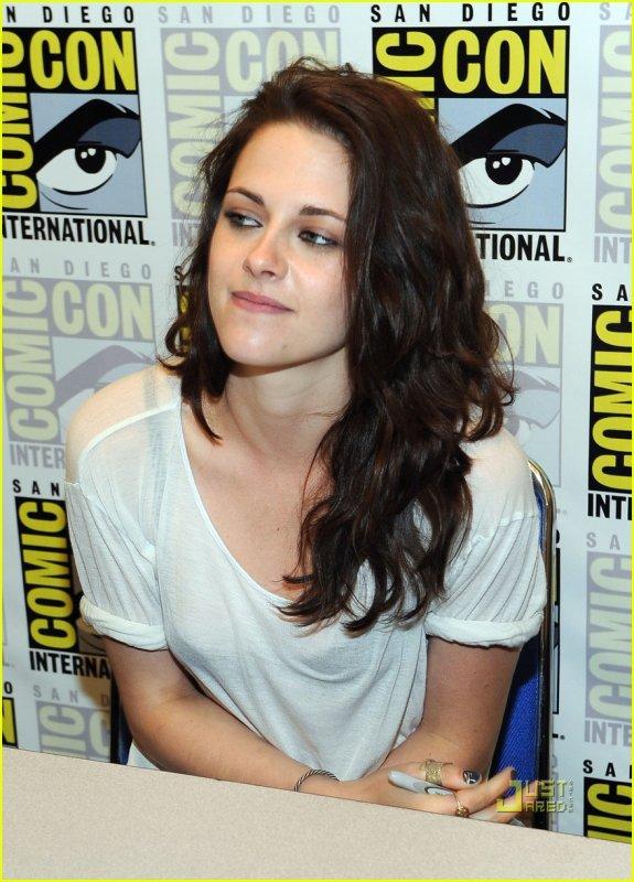 Kristen au Comic Con