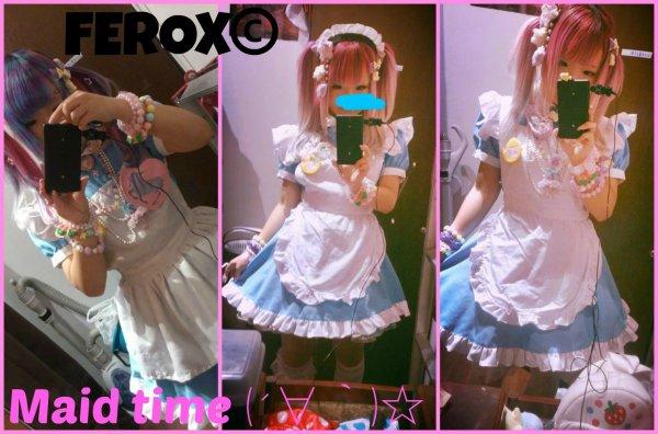 La nouvelle maid ici, c'est moi, Fero~♥