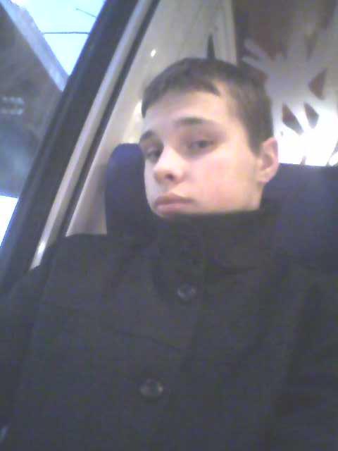moi dans le train