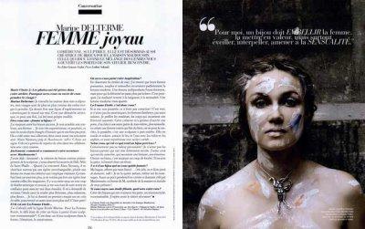 Marine Delterme laisse un message vidéo a ses fans ! 6 pages dans Paris Match et une archive ! ♥