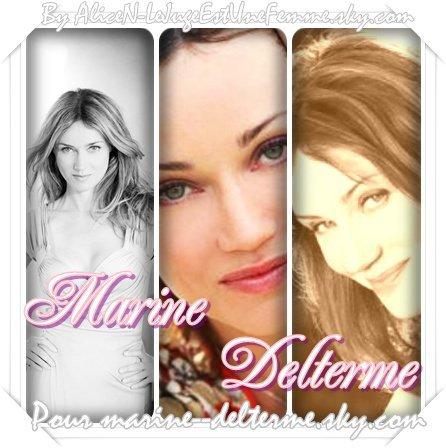 Marine Delterme une actrice de talent ! Mon blog lui est consacré news actu photos ...