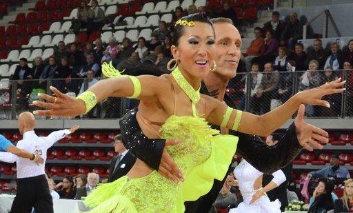 La danse sportive latine