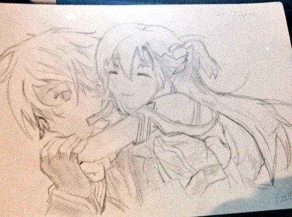 Un dessin d'Sao♥