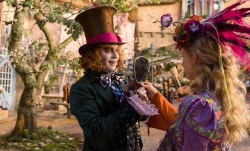 Alice de l'autre côté du miroir !