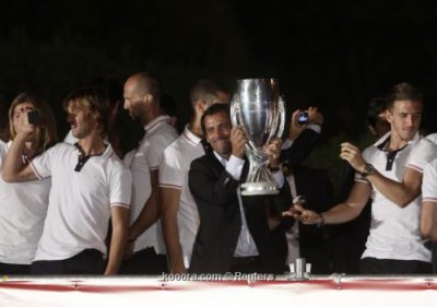 Atlético de Madrid, los partidarios de celebrar con la Supercopa de Europa