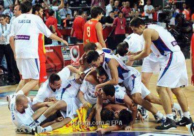 Serbia no reconoce su homólogo español y expresó las semifinales de la Copa Mundial y las alegrías de la canasta después de la derrota de España en la Copa del Mundo de Baloncesto