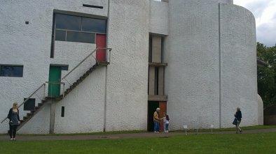 Clementia a visité la Chapelle Notre-Dame du Haut à Ronchamp (1)