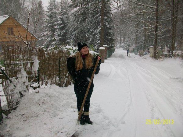 moi dans la neige 2013 lool