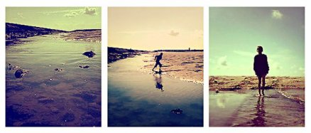 La goutte d'eau séparée de l'océan peut trouver un repos momentané,  mais celle qui est dans l'océan ne connaît pas de repos Gandhi