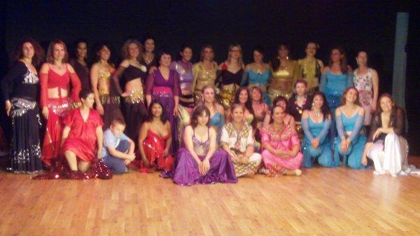 Les danseuses de Romainville et l'Apsad 93,spectacle du 26 juin 2011