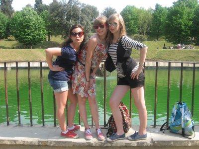 Jardin Des Boboli Florence Italie Romane