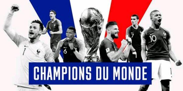 C'EST FAIT !!! LA FRANCE EST CHAMPIONNE DU MONDE ??️⚽️