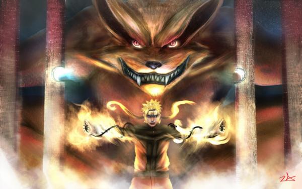 Kurama et Naruto ! :p