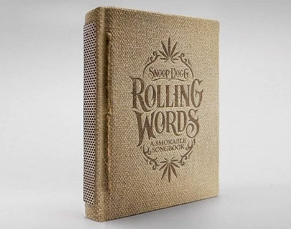 Insolite: Rolling Words- Snoop Dogg's Smokable Book