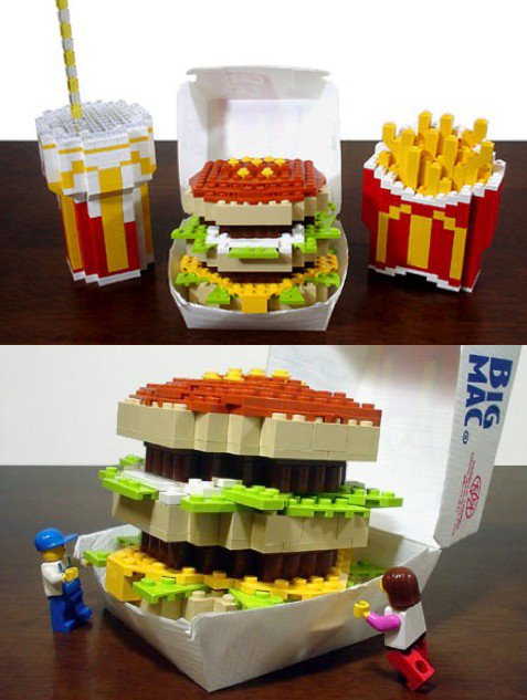 Insolite: Lego Big Mac