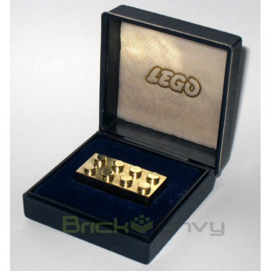 Insolite: Lego Golden Brick