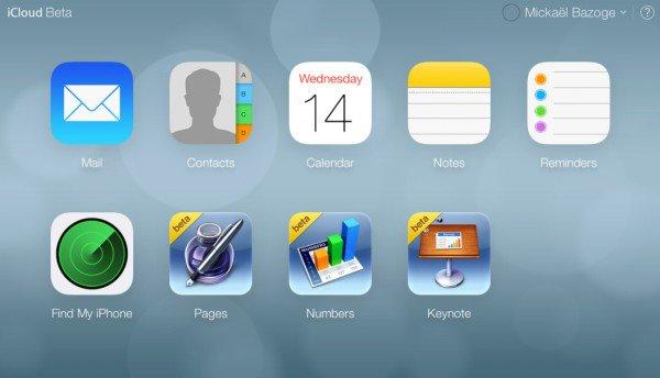 GeekMag: iCloud désormais en Flat Design