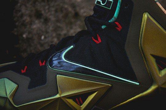 Shoes: Nike Lebron XI Parachute Gold