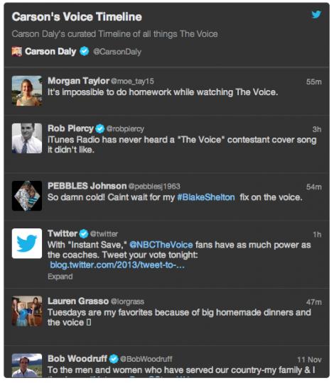 GeekMag: Timeline Personnalisée pour Twitter