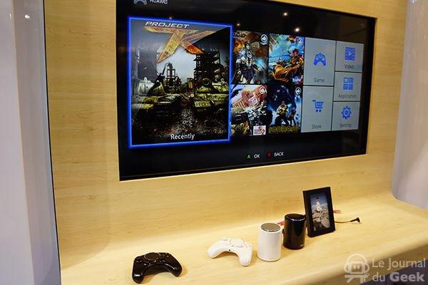 GamerNews CES 2014: Huawei Tron