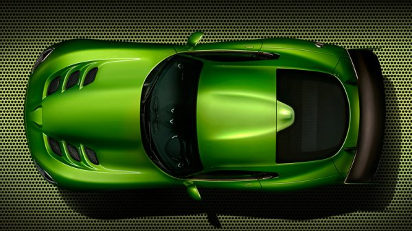 Automobile:DODGE VIPER STRYKER GREEN 2014