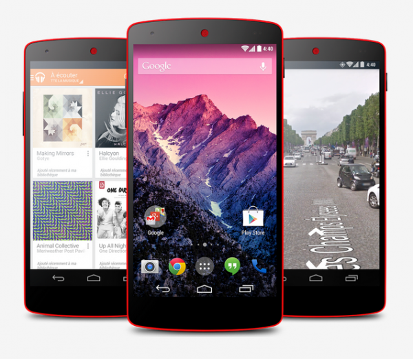 GeekMa: Nexus 5 Red