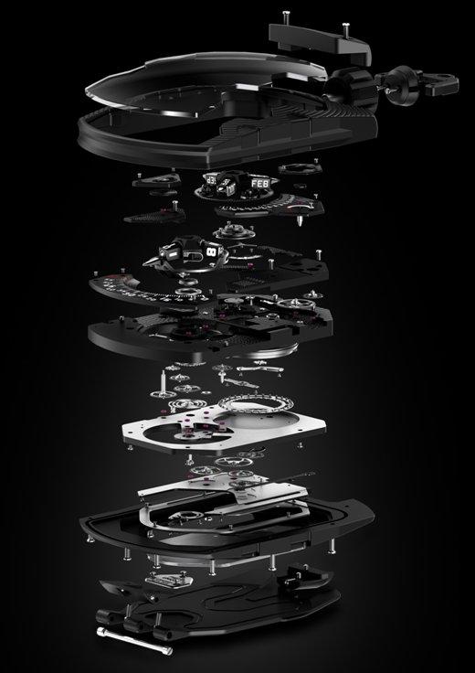 Horlogerie: Urwerk UR-1001 Zelt Device