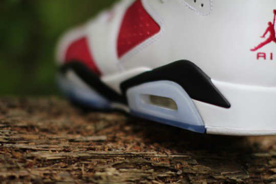 Shoes: Air Jordan 6 Carmine