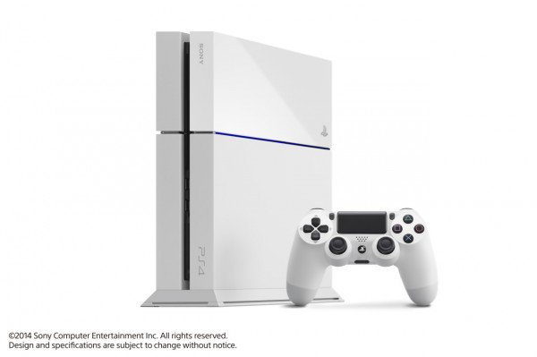 GamerNews E3 2014: Sony Playstation 4 White