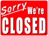 Hors-Serie: Sorry we're Closed
