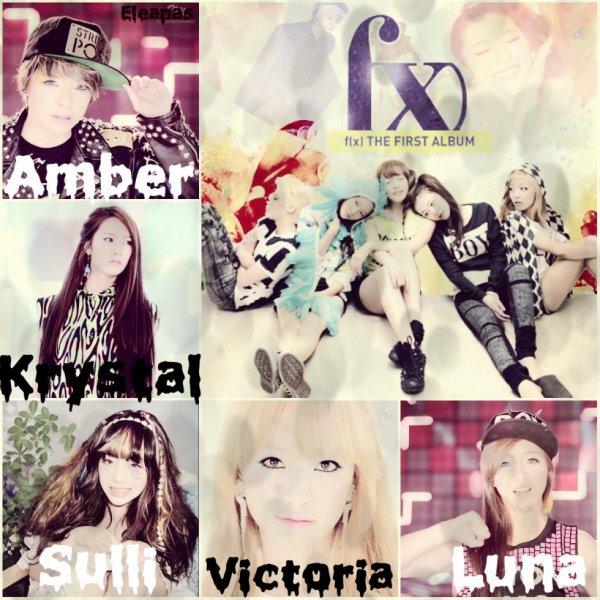 F(x) votre membre préféré? Moi c'est Amber