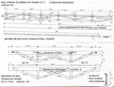 PLANS DETAILLES DU RENAULT AHN