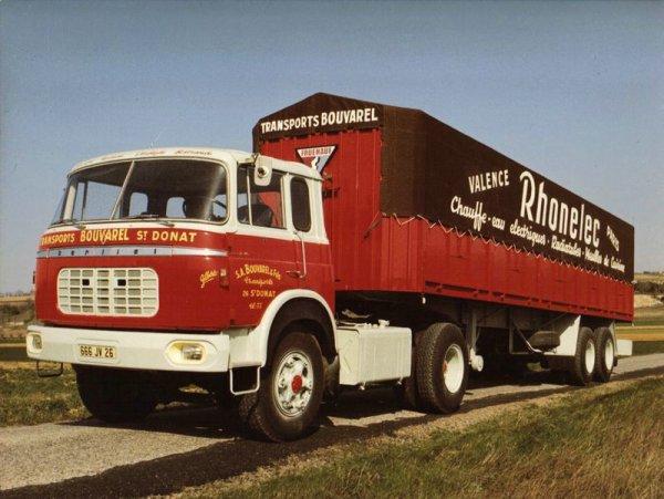 Camions Berliet, TR 250 6 cyl, année 1966