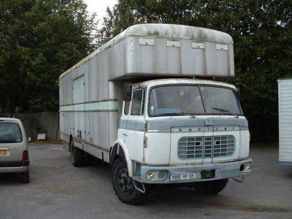 BERLIET GRK 10 porteur fourgon 1960