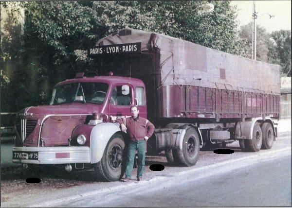 BERLIET TLR 10 M de 1960