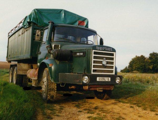 Berliet GBH 260 en 1975/76