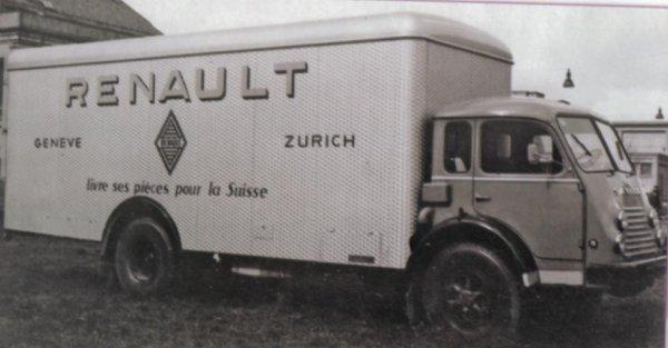 Renault suisse modèle 4154