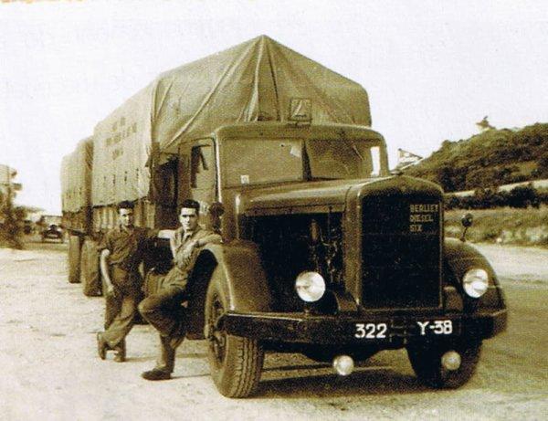 Berliet GDM 10 transports Nouchy de Pontcharra