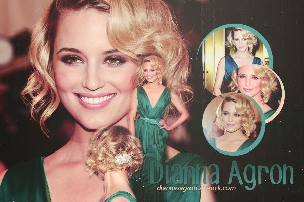 Bienvenue sur Diannasagron©, votre source d'actualité de la belle Dianna Agron.