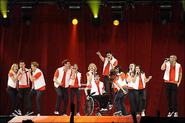 24/05/11 : Pour la troisième fois, Di' et les ND ont donnés un concert « Glee Tour 2011 » à San Jose en Californie.