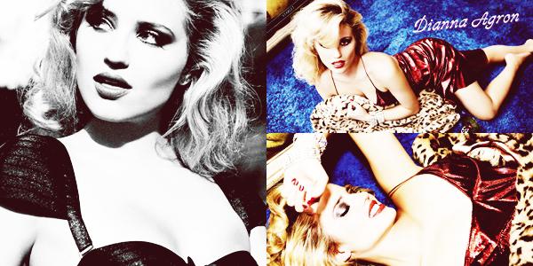PHOTOSHOOT / 2013  Dianna est récemment passée devant l'objectif pour devenir la star du magasin « Galore ». M.A.G.N.I.F.I.Q.U.E.