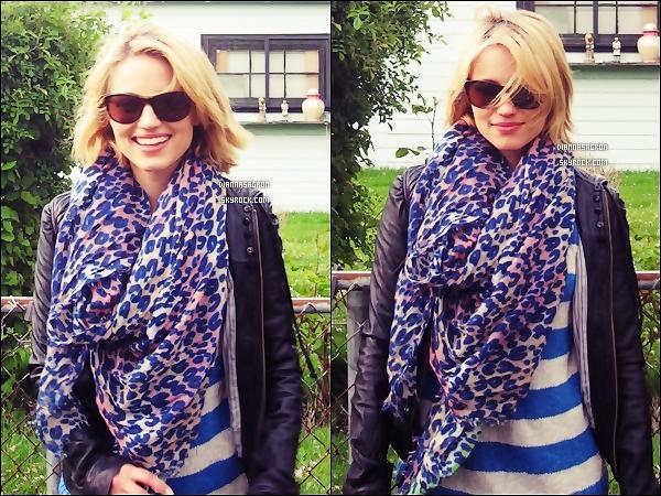 . Di' a posté des photos d'elle sur son compte Tumblr, à ce moment là elle se trouvait à Portland. .