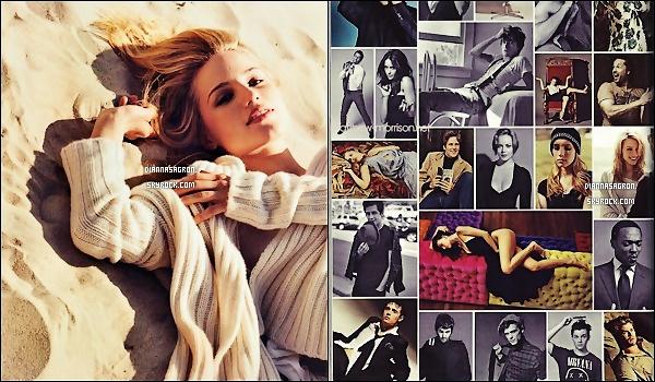 Découvrez deux nouveaux scans de Dianna Agron pour Vanity Fair, version Italie.
