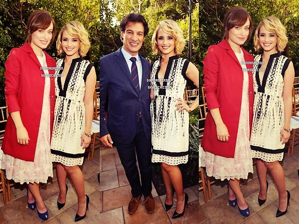 20 Octobre 2012 | Dianna Agron, magnifique, était présente à un défilé de « 2011 CFDA Vogue Fashion Fund »