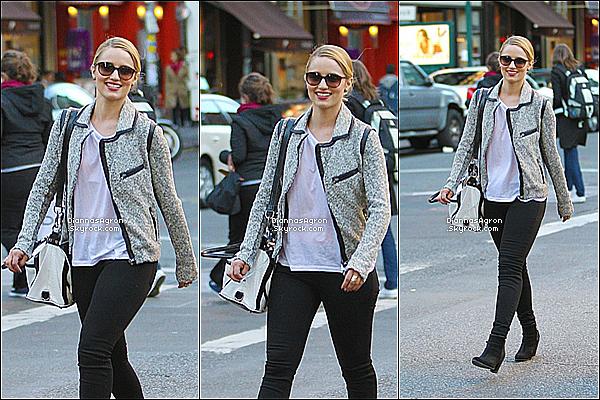 6 Avril 2012 |Notre missDi' a été aperçue avec quelques amies se promenant dans les rues de New-York.