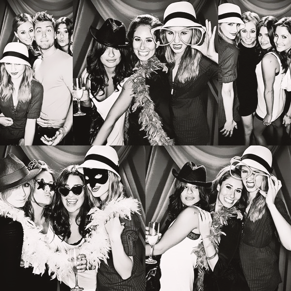 Découvrez les cinq clichés d'un shoot réalisé en 2009 de Di avec quelques amis comme Lea Michele et Stéphanie (Lea's BFF)