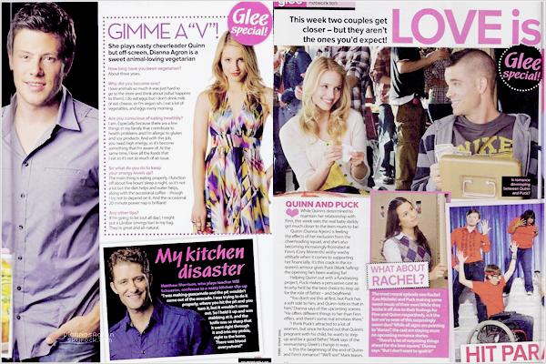 Voici deux nouveaux scans de l'édition de Novembre 2009 du magazine TV Week Australien. Remarquez les « Quick » shippers !