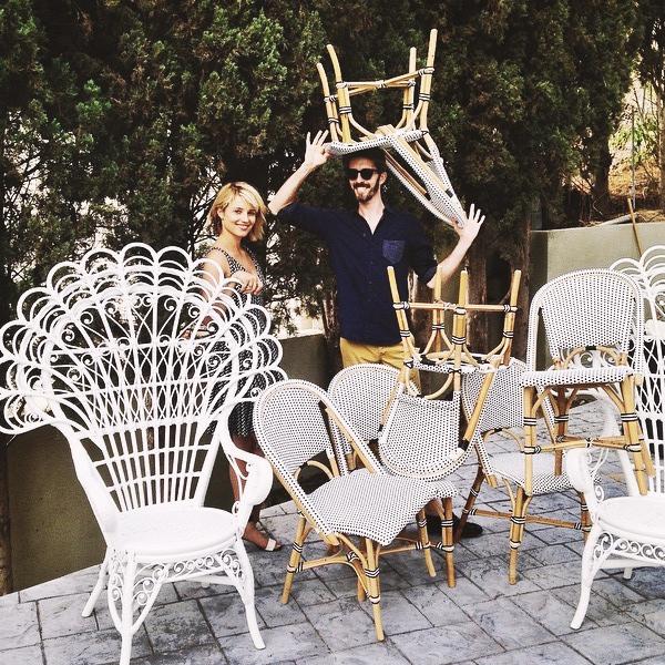 Dianna a participé à un « Home Makeover » (fête entre amis organisée à la maison) entre deux journées de tournage du film Bare.