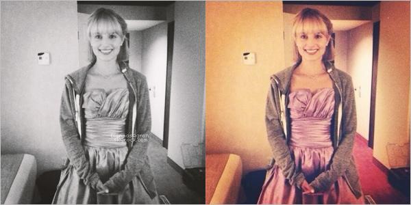 Deux nouvelles photos de Dianna viennent d'être publiées lors d'un Behind the Scene sur le tournage de « Bare »via Twitter.