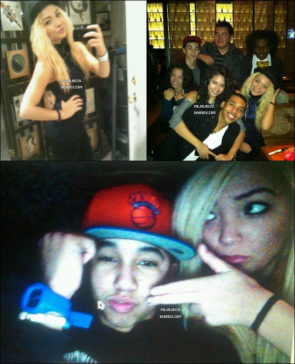 19/11/11 : Jazzy a posté plusieurs photos personnelles d'elle, son groupe & ses amis qui datent de ces 2 dernieres semaines. - Jazzy a fait un compte instagram : JazzyMejiaOnly